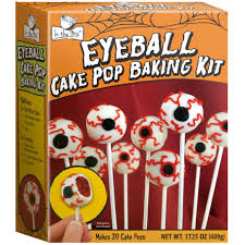 halloween eyeball cake pop baking kit from punchbowl halloween