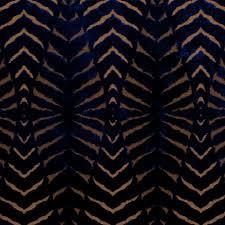 on sale blue cut velvet upholstery fabric modern animal