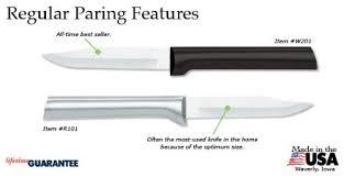 rada kitchen knives rada cutlery regular paring knife great bartender