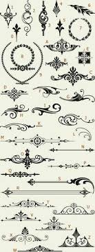 awesome ornaments letterhead fonts lhf engraver s ornaments 1