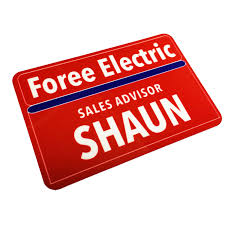halloween electric props 2 x 3 plastic shaun name tag badge shaun of the dead foree
