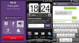 free calling apps for android viber s free calling and texting app now on android