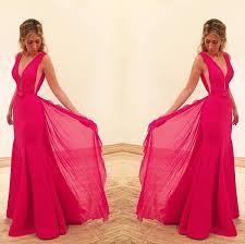 chiffon prom dresses pink prom dress modest prom gown cheap