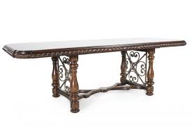 mathis brothers dining tables traditional 130 rectangular dining table in port mathis brothers