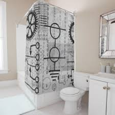 math shower curtains zazzle