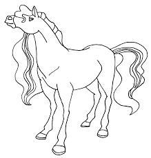 horse coloring printable archives printable horse