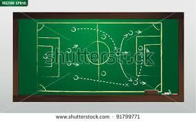 soccer poster brazil vector illustration template stock vector