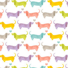 dachshund wrapping paper the scratchbook alma loveland dog milk dachshunds