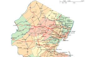 northern map regional map of northern jersey
