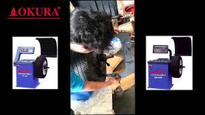 okura เคร องถ วงล อ ok 530 ok 550 youtube