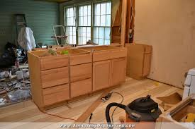 kitchen peninsula cabinets peninsula cabinet installation almost finished