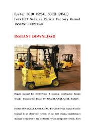 100 class i forklift manuals the forklift workshop dvd