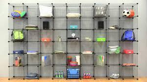 Wire Storage Unit Whitmor Wire Storage Cubes Youtube