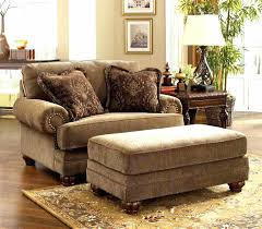 ottoman oversized leather chair and ottoman superb a half with