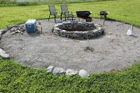 Backyard Landscaping With Fire Pit - download rock fire pits designs garden design