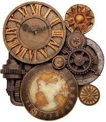 Neat Clocks by Medium Gears Of Time Clock Design Toscano Steampunk Steam Punk