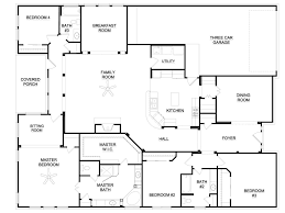 house plans with dual master suites ideas 42 amazing one story house plans with two master suites
