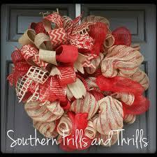 christmas mesh wreaths mesh and burlap christmas wreaths happy holidays