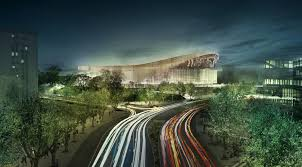 nba u0027s atlanta hawks unveiled plans for new philips arena by hok