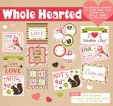 printable stickers valentines whole hearted valentines day printable labels worldlabel blog