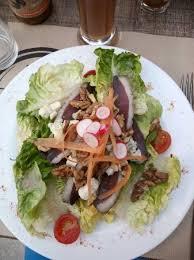 jeux de cuisine salade salade aveyronnaise picture of restaurant au jeu de paume millau