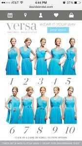malibu bridesmaid dresses david s bridal malibu blue versa style f15782 dress david s