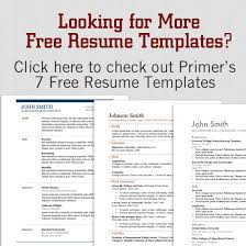 Resume Examples For Stay At Home Moms by 12 Resume Templates For Microsoft Word Free Download Primer