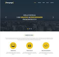 27 professional free psd website templates