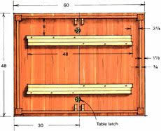 table extension slide mechanism how to make your own extension slides for a diy expanding table like