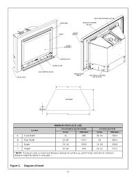 figure 1 diagram of insert heat u0026 glo fireplace heat n glo fb
