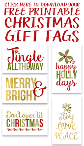 free printable gift tags yellow bliss road
