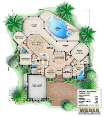 mediterranean villa house plans house plans mediterranean design 6 wondrous ideas villa home pattern