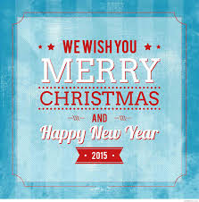 we wish you merry and happy new year 2015