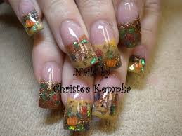 thanksgiving harvest nail gallery