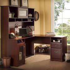 Executive Desk With Hutch Barrel Studio Toledo L Shaped Executive Desk With Hutch