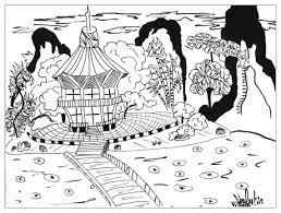japon valentin japan coloring pages for adults justcolor