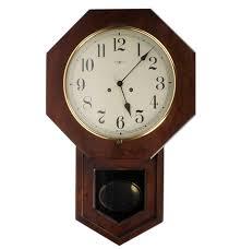 Howard Miller Clock Value Vintage Howard Miller Regulator Wall Clock Ebth
