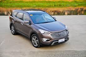 hyundai santa fe 2014 2014 hyundai grand santa fe 2 2l r evgt 4wd premium car reviews