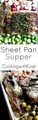 cooking with k sheet pan supper country pork ribs radishes