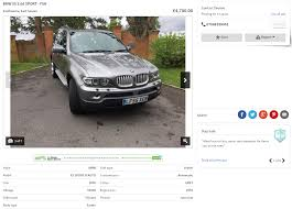 Bmw X5 90k Service - ebay scam 2005 bmw x5 3 0d sport lf55xen fraud lf55 xen