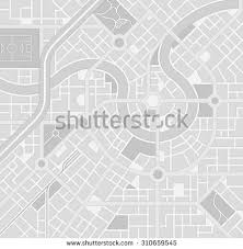 map pattern high detail vector map set composed stock vector 299390021
