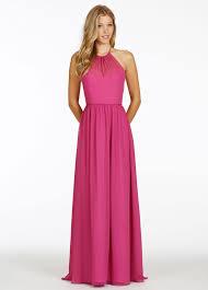 jim hjelm bridesmaids jim hjelm occasions bridesmaid chiffon a line gown racer neckline