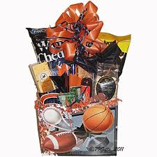 football gift baskets four quarters football basket