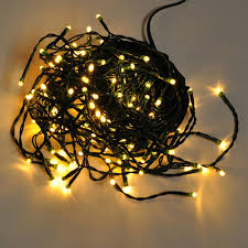 linkable 33 ft 100 led green wire string light with detachable