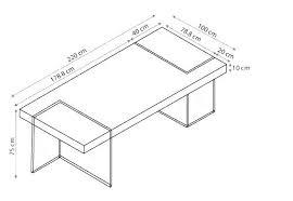 taille plan de travail cuisine hauteur table de cuisine dimension table cuisine hauteur table de
