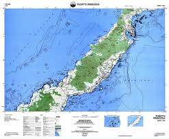 Topographic Map Of The World by Namria The Central Mapping Agency Of The Government Of The