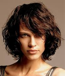 angled hairstyles for medium hair 2013 layered curly hair with bangs layered curly bob hairstyles new