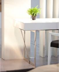 Modern White Office Table White Contemporary Office Desk With Storage Oakland California J U0026m Lof