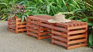 Diy Wooden Garden Bench Plans by Easy Diy Outdoor Bench To Make Best Home Design Ideas
