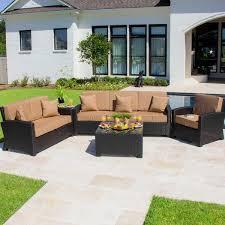 Resin Wicker Outdoor Patio Furniture by Best 25 Resin Patio Furniture Ideas On Pinterest Orange Outdoor